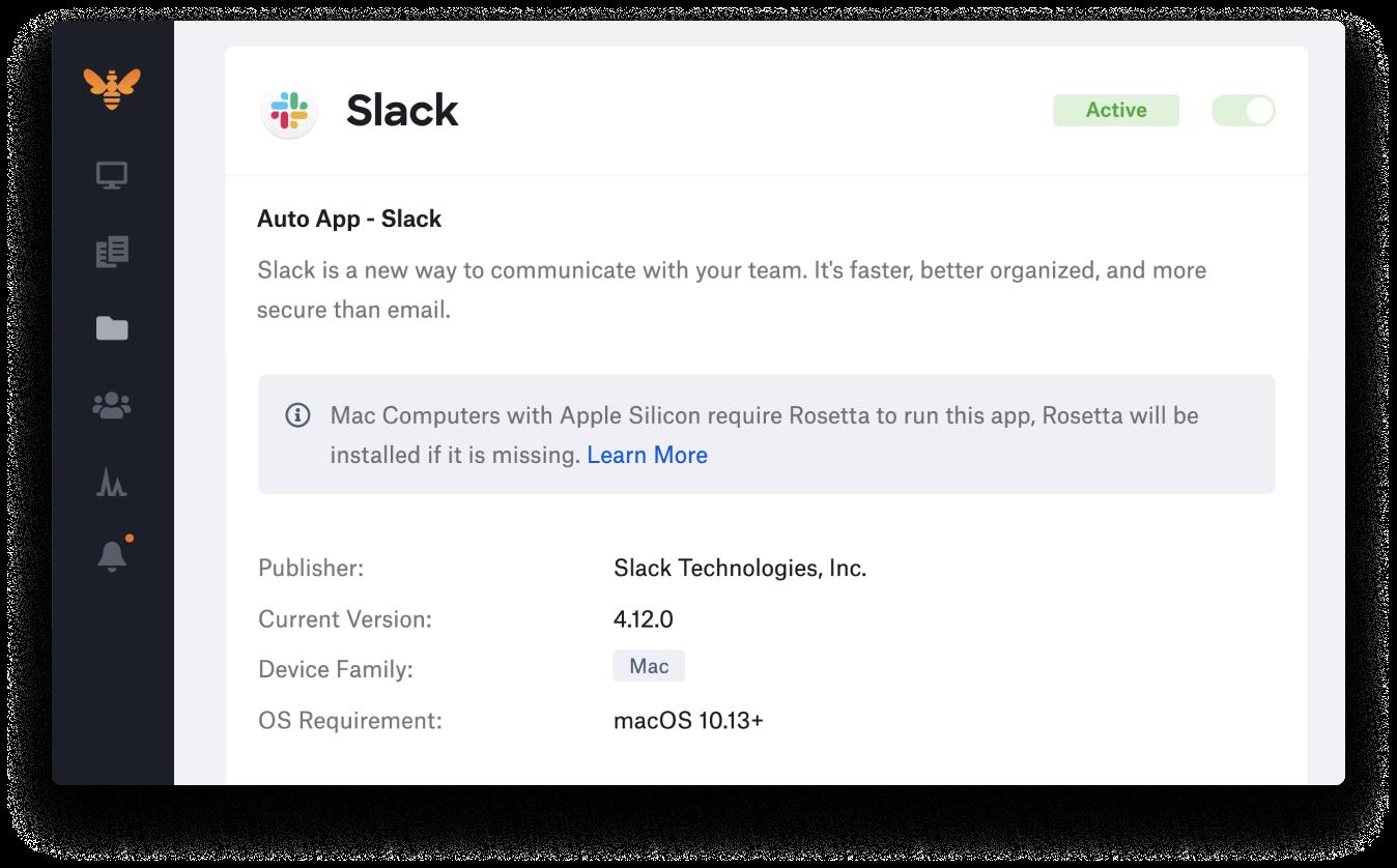 Automatic Rosetta 2 installation for Auto Apps