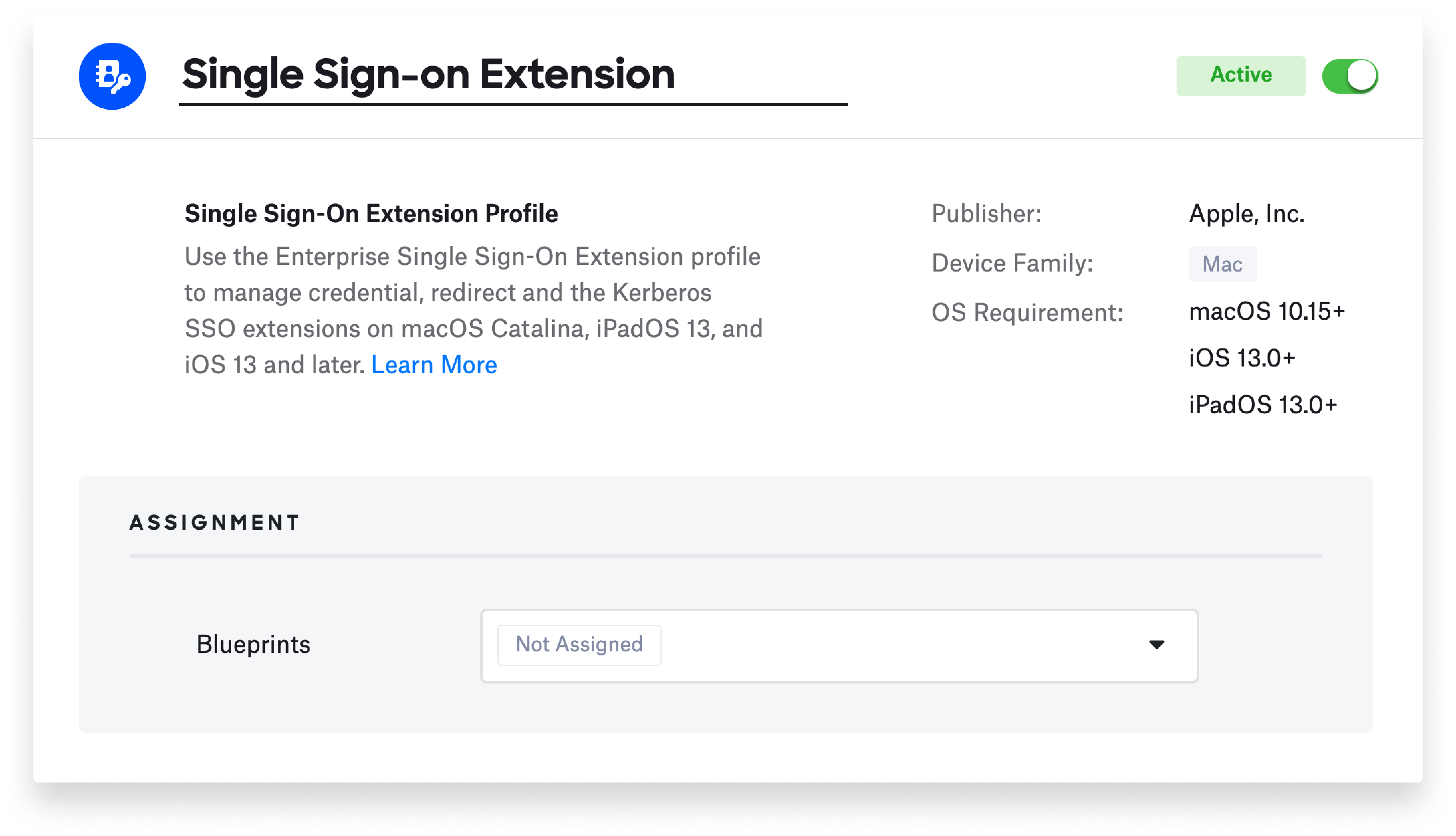 SSO Extension