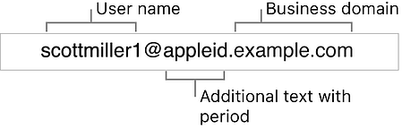 apple id for business structure