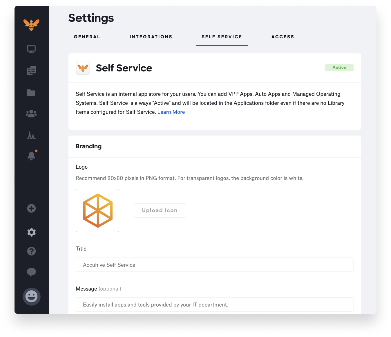 customizing self service - icon logo-4