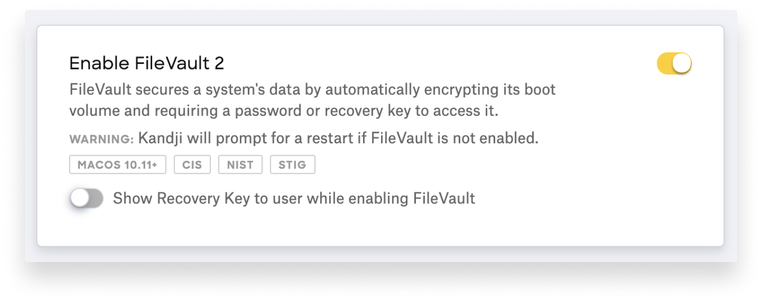 hide filevault 2 recovery key-1