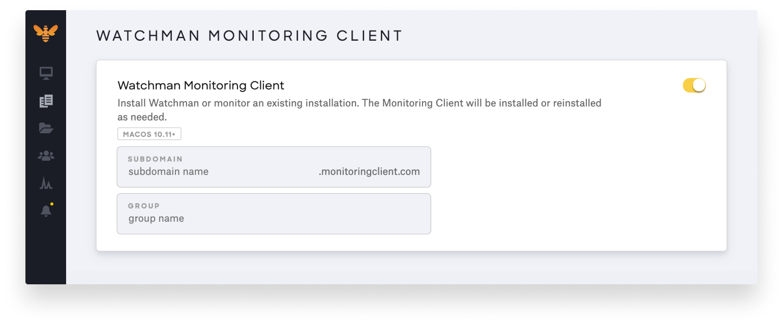 kandji watchman monitoring parameter