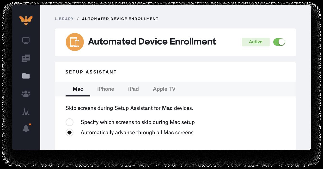 mac big sur auto advance