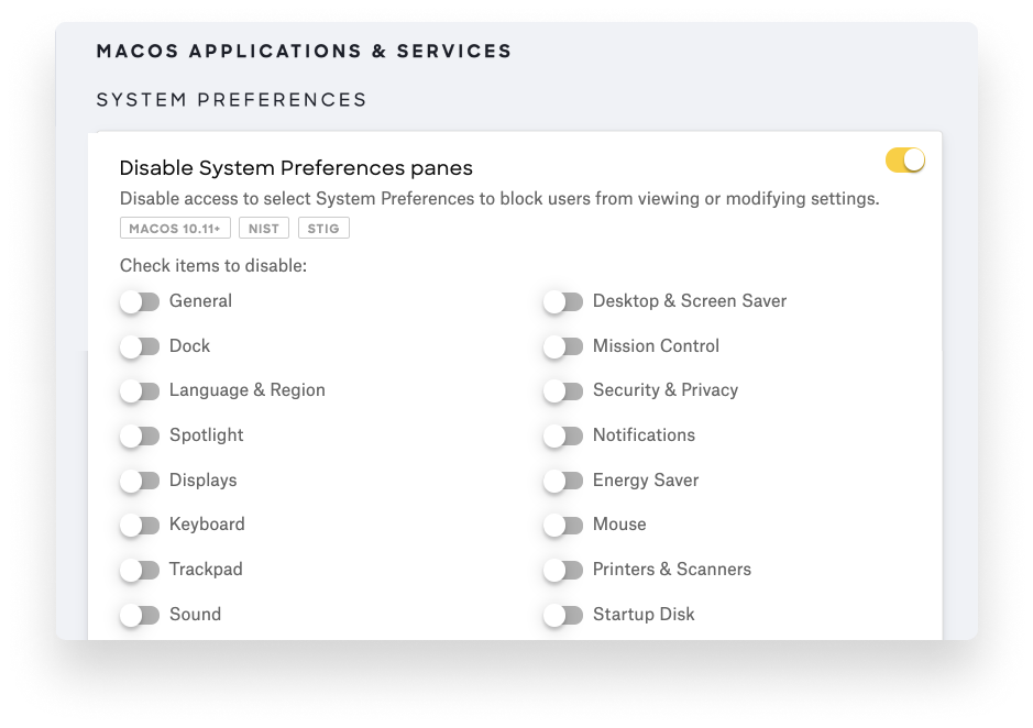 manage system preferences page kandji-1