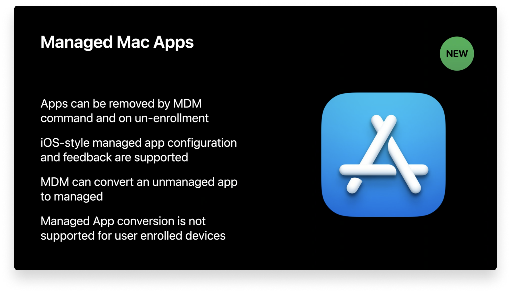 managed mac apps