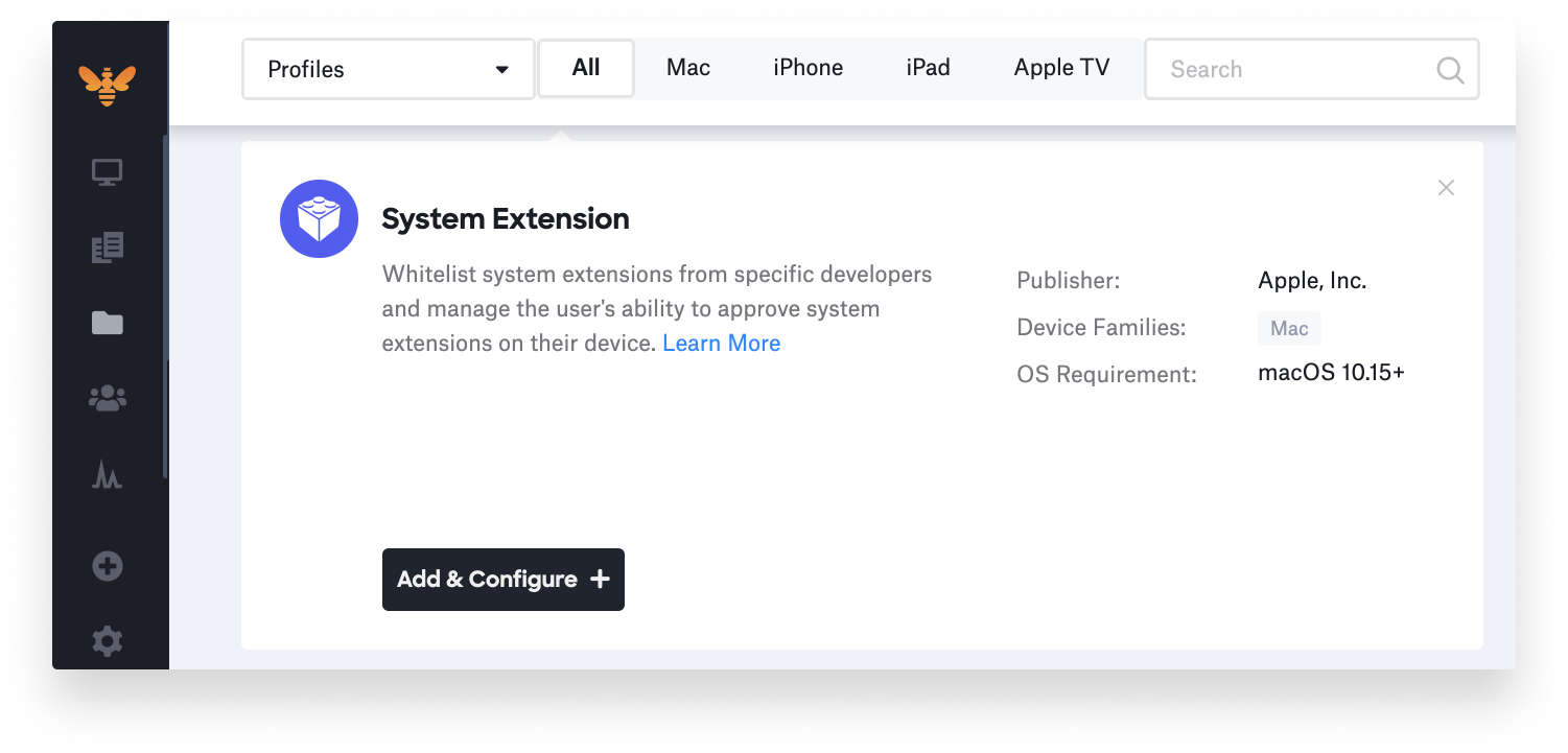 new system extensions