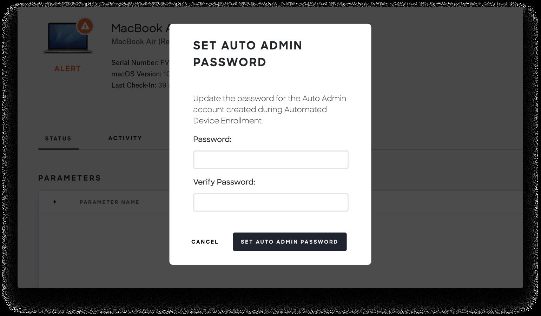 reset auto admin password mobile-2