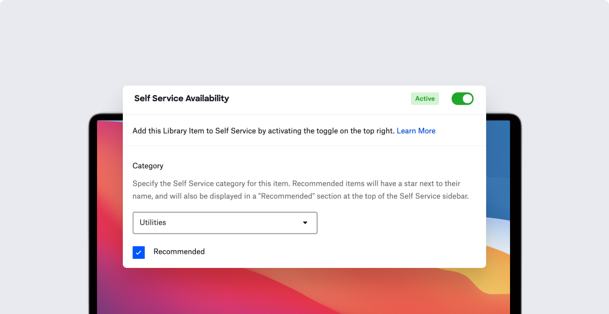 Introducing Custom Apps and Scripts in Self Service