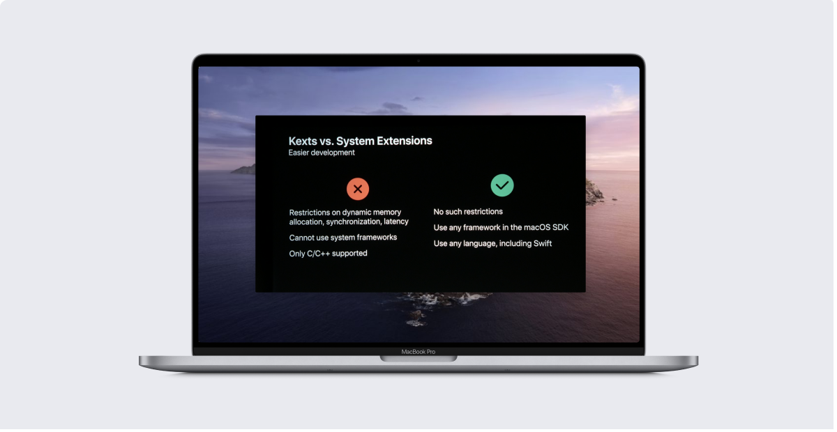 Guide for Apple IT: macOS Kernel Extensions