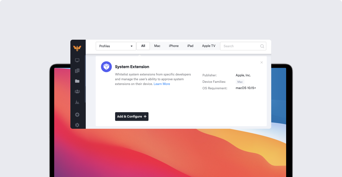 Product Update: System Extensions Profile, AppConfig, and More