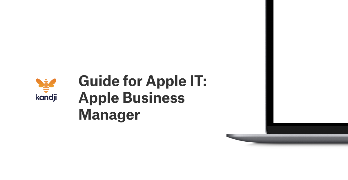 guide for apple it apple business manager